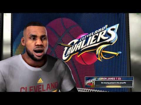 NBA 2K16 - Cavs vs. Lakers - Full Game - GTX 980m 60FPS - Asus ROG Laptop