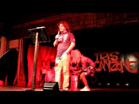 Roberto canta a Zanzibar