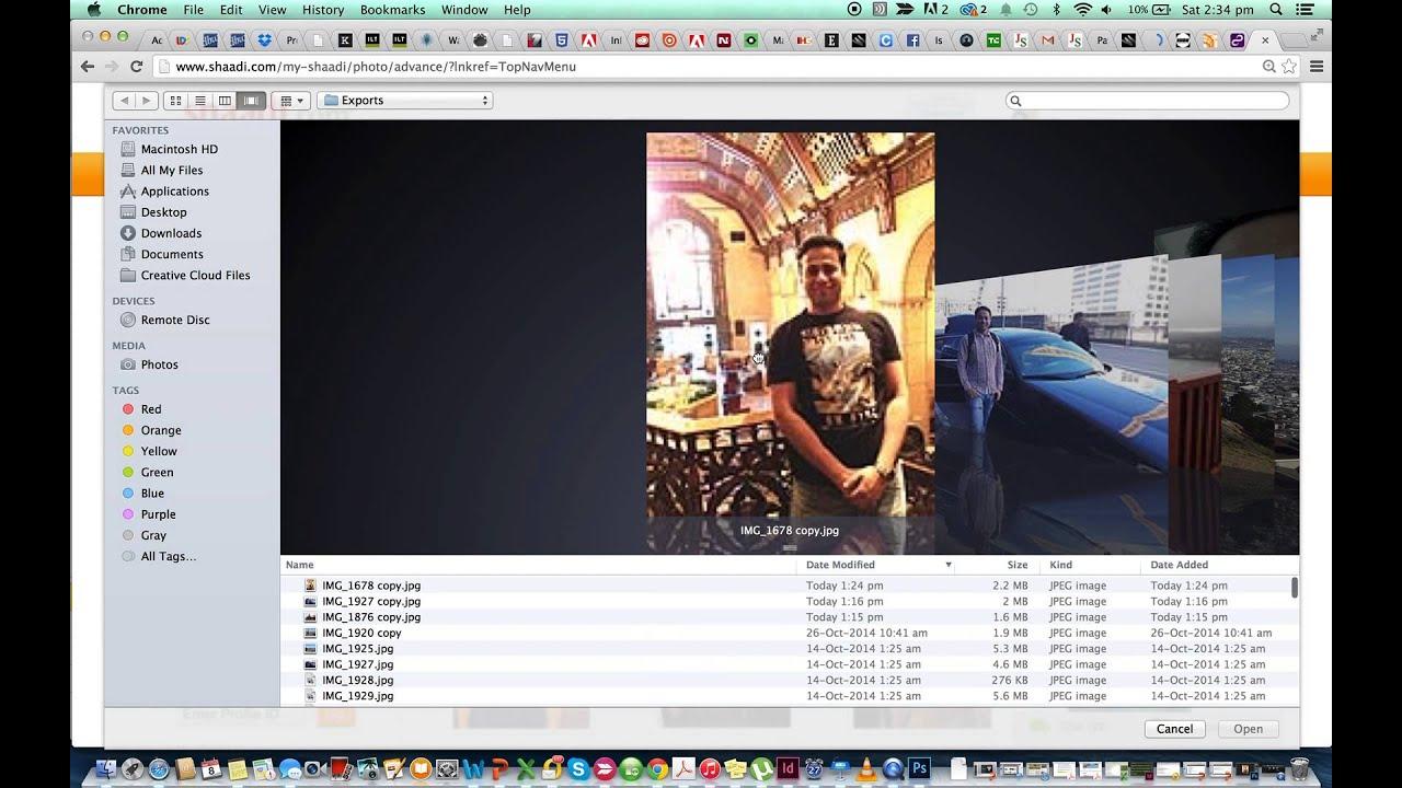shaadi com desktop version