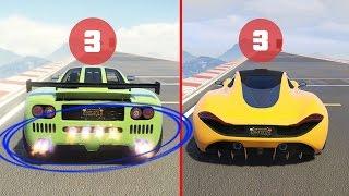¿Puede este coche ser mas rapido que el Progen t20? Test GTA V Online