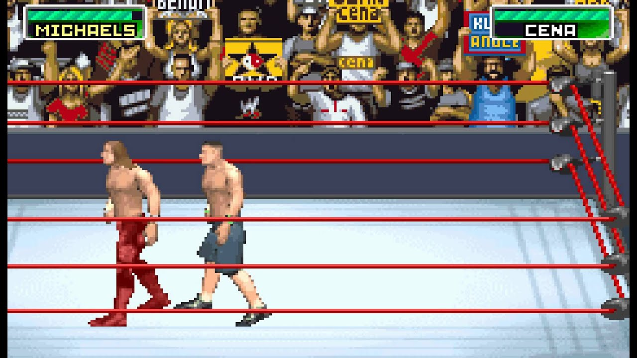 how to play wwe survivor series gba
