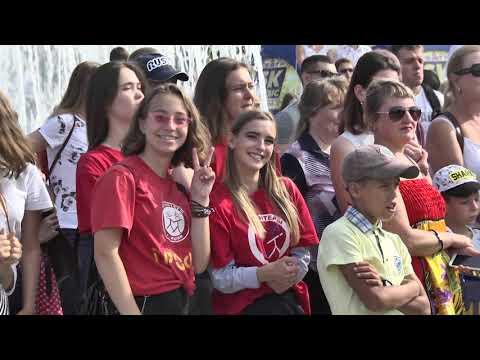 Празднование 75 лет Тюменской области в Ишиме