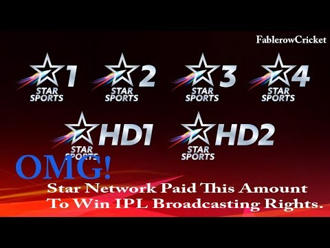 Shocking!!! Star Sports Paid This Whopping Amount for IPL Rights