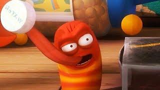 LARVA - TENNIS CHAMPIONSHIP | Cartoon Movie | Cartoons For Children | Larva Cartoon | LARVA Official