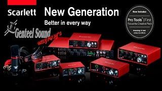 focusrite scarlett segunda generacion 2nd generation scarlett