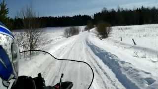 Катание на снегоходе(По лесам, по полям, по озерам, Черное, Бородинское, Ворошиловское, Свободное., 2012-12-17T20:41:53.000Z)