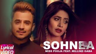 Sohnea Ringtone //  Miss Pooja // Ft. Millind Gaba // Latest Punjabi Romantic Status //