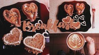 Идеальный завтрак для любимого на 14 февраля♡ Valentine's Day