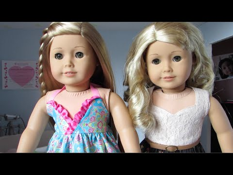Comparison: American Girl Dolls Lanie And Isabelle!