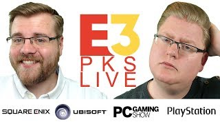 Ubisoft, Square Enix & PC Gaming PKs E3 2018 LIVE mit Piet & Chris