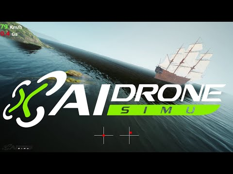 AI Drone Simulator by Pilots #4 : RoTor's CooL Team