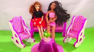 DIY Miniature Sofa Cardboard Recycled Dollhouse Furniture & Crafts