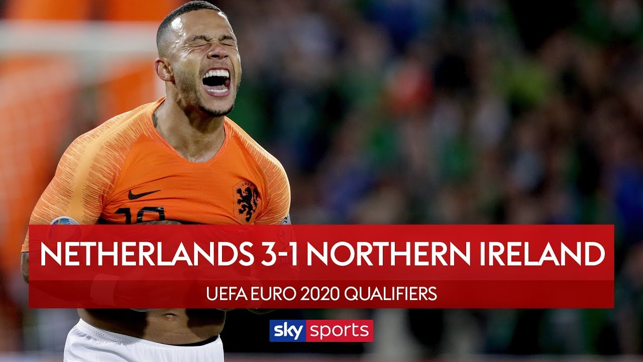 Dutch break Northern Ireland hearts | Netherlands 3-1 N Ireland | UEFA Euro 2020 Qualifiers