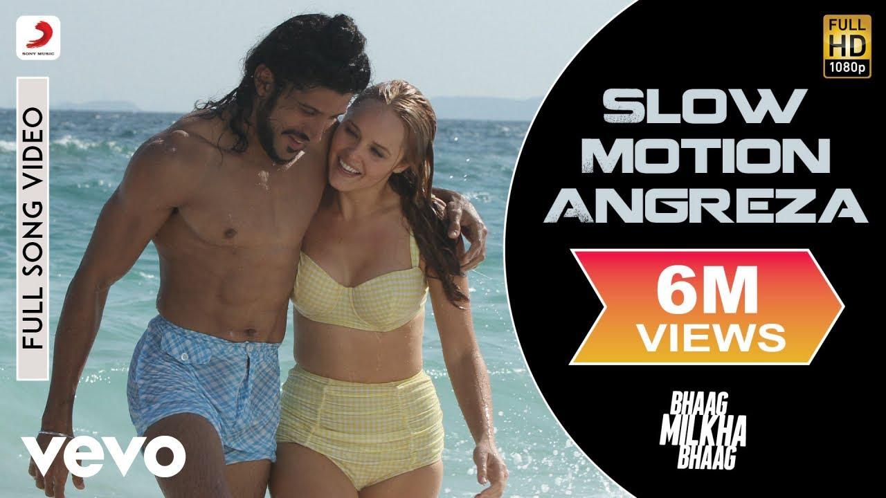 Download Slow Motion Angreza Full Video - Bhaag Milkha Bhaag|Farhan Akhtar|Sukhwinder Singh