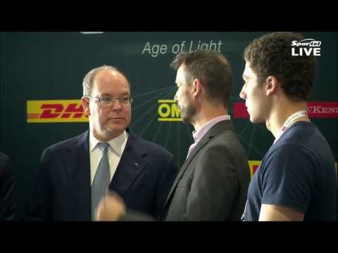 ELECTRIC GT CHAMPIONSHIP (Sportel) - Official visit of H.S.H. Prince Albert II of Monaco.