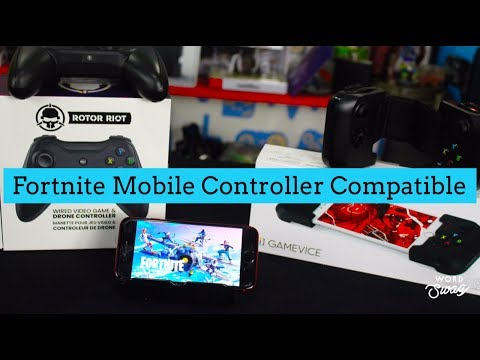 Fortnite Mobile NOW Controller Compatible