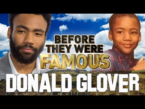 DONALD GLOVER  Before They Were Famous  Childish Gambino