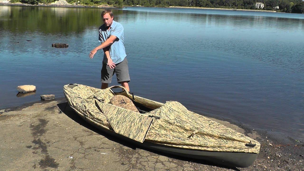 blind youtube canoe duck watch frontier blinds