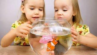 Игрушки Robofish! Удивительная РЫБКА РОБОТ (роборыбка) на батарейках. Видео для детей(Robofish Рыбка робот на батарейках. Удивительная роборыбка клоун Робофиш, совсем КАК ЖИВАЯ! Рыбы игрушки. Видео..., 2016-02-05T17:39:55.000Z)