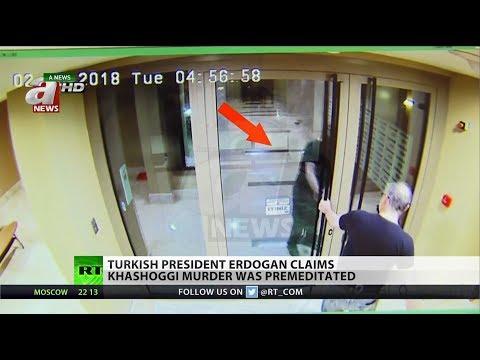Turkish President Erdogan: Khashoggi Murder Was Premediated