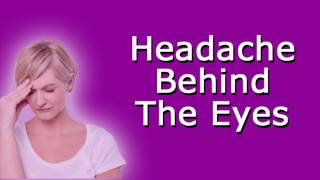 Headache Behind the Eyes