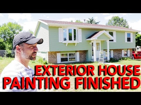 Exterior House Painting Finished | In The Life 87