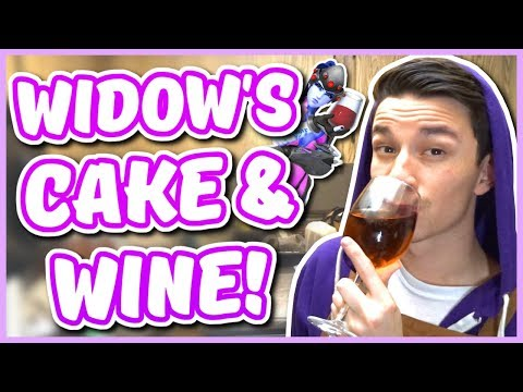 Overwatch - WIDOW'S VALENTINES DAY CAKE AND WINE RECIPE (Chef You Wack)