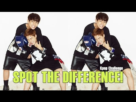 Kpop Challenge: Spot The Difference #1 [Level: Medium]
