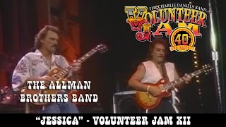 The Allman Brothers Band - Jessica - Volunteer Jam XII