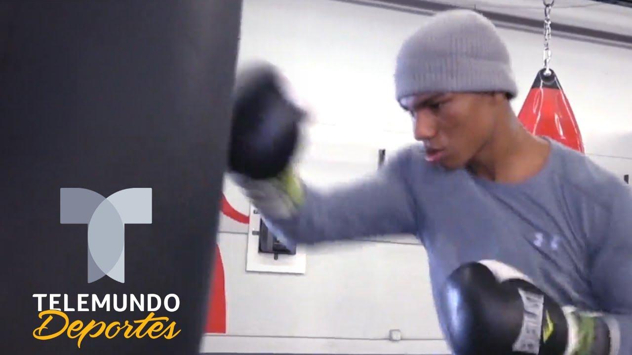 "Brandon ""El Metrallo"" Valdés está listo para sacar chispas en Boxeo Telemundo | Telemundo Deportes"