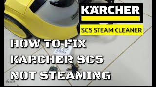 How to fix steam cleaner not s…