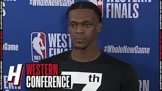 Rajon Rondo Postgame Interview - Game 1 | Nuggets vs Lakers | September 18, 2020 NBA Playoffs