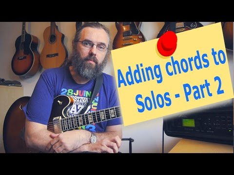 Adding Chords to Single Note Lines – Part 2