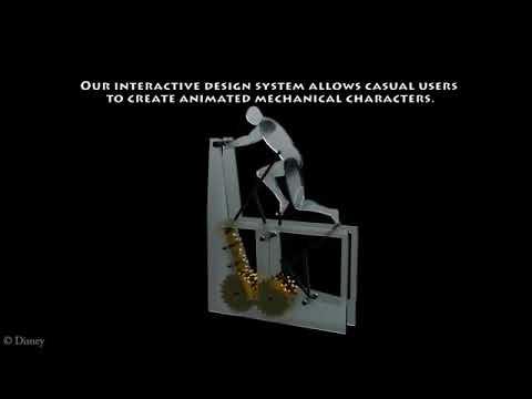 Computational Design Of Mechanical Characters