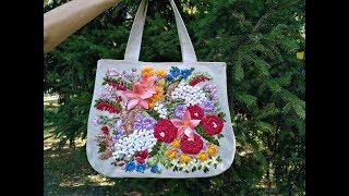 """Женская сумка """"Гармония лета"""". Обзор."""