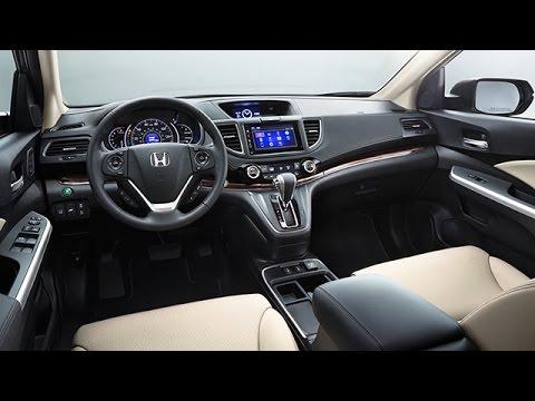 2015 Honda CR-V Interior Review - YouTube
