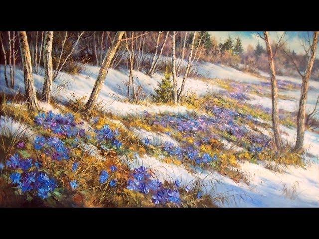 Изображение предпросмотра прочтения – МаргаритаКузнец читает произведение «О, весна! Без конца и без края» А.А.Блока