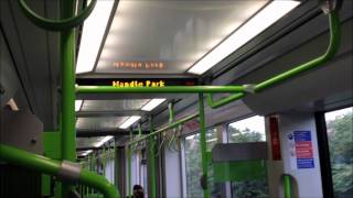 A ride of a NEW TRAM in Croydon Tramlink