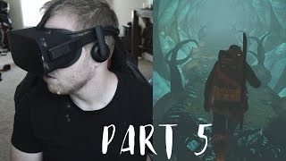 RUN FOR YOUR LIFE! - Edge of Nowhere Gameplay Walkthrough Part 5 (Oculus Rift VR)