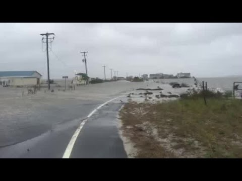 Raw video: Ocean City Maryland flooded by coastal storm [Oct. 2, 2015]