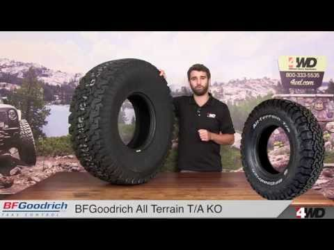BFGoodrich All Terrain T/A KO Tires