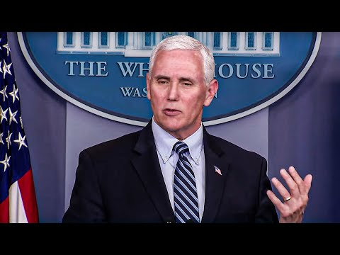 Mike Pence Speaks Like A Total Lunatic During Press Briefing