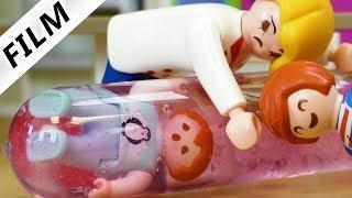 Playmobil Film deutsch EMMA IN WACKELPUDDING GEFANGEN - Julian prankt kleine Schwester Familie Vogel