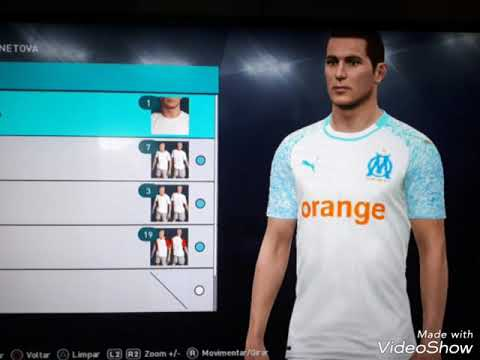 info for d5507 b2d7f Olympique De Marseille kits 2019 PES 2018 PS3(FULL)