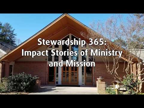 Stewardship365 - Harriett talks about Outreach