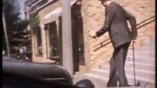 World's Tallest Man, Robert Wadlow - RARE COLOR FOOTAGE!