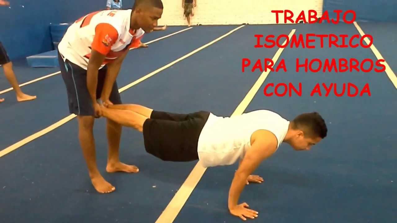 La preparacion fisica en la gimnasia artistica youtube for Ejercicios de gimnasia