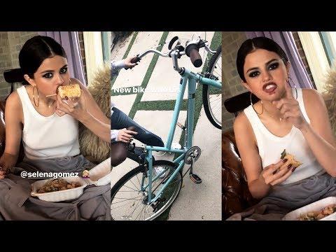 Selena Gomez  Snapchat Story  30 October