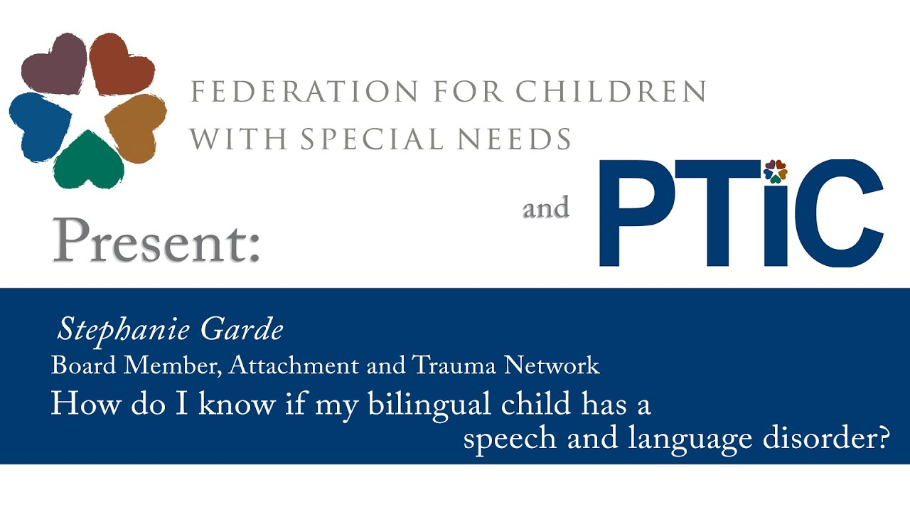How do I know if my bilingual child has a speech and ...