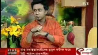 SUKUMAR RAY- jonmodin on Good-Morning Kolkata on KOLKATA TV